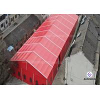 20x30m Red Color Wedding Party Tent For 500 People With Curtain And Linings Manufactures