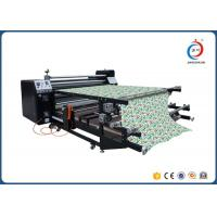 Rotary Sublimation Heat Transfer Machine For Garment 1.7m Width 420mm Diameter Manufactures