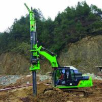 Construction machinery drilling diameter 1200mm Tysim KR50 mobile earth drilling machine with 20m depth Manufactures