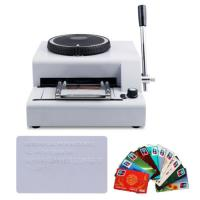 China 2016 new hot sale low price manual credit card embossing machine on sale