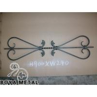 Interior Outdoor Wrought Iron Stair Railings Manufactures
