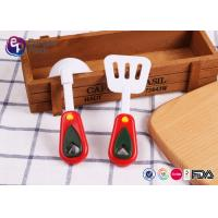 BPA Free Food Safety Custom Plastic Toys Spoon For Children Playing Manufactures