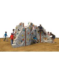 Quality Plastic Kids Climbing Wall 620 * 20 * 250 CM With Rounded Edge for sale