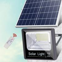 China Waterproof 200W Solar LED Flood Lights Aluminum Body  With Remote Control on sale