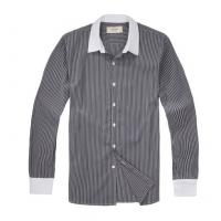 100% cotton yarn dyed poplin shirt