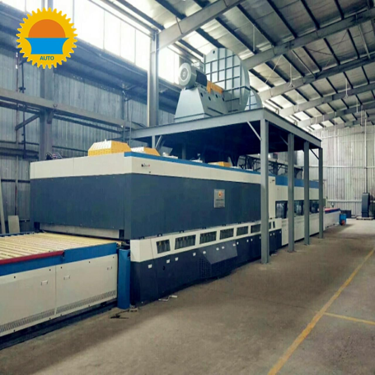 China 19 Loads / H Tempered Glass Manufacturing Machine High Efficiency For Solar Energy on sale