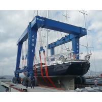 Yacht Lift Gantry Crane for Hot Sale, Nucleon 500 ton mobile boat lift gantry crane Manufactures
