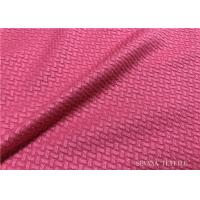 China Cotton Touch Activewear Knit Fabric Durability Wicking Moisture For Run Yoga Clothing on sale
