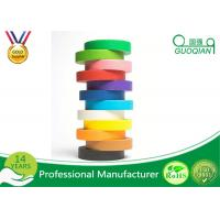 Buy cheap Kraft Packaging Tape / Colored Masking Tape for Fun DIY Arts Paint from wholesalers