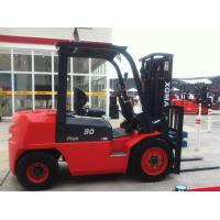 3 Stage Mast Diesel Engine Forklift 4.5m Lifting Height With Structural Painting Manufactures