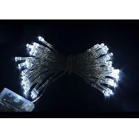 4.5 Volt Battery Powered LED String Lights 10meter 80 Bulbs Multicolor / White Manufactures