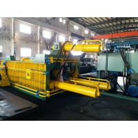 Double Main Cylinder Bale Turn Out Baler Machine For Scrap Metal  / Aluminum Manufactures