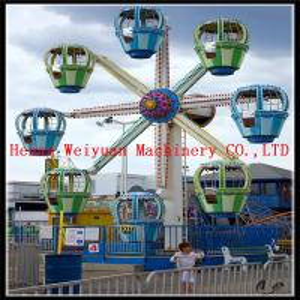 China 8 cabins Fun fair games kids indoor mini ferris wheel for sale on sale