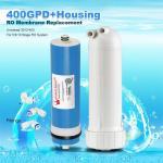 400GPD Umkehrosmose Wasser Filter Ersatz + Gehäuse RO Membran Universal HOT Manufactures