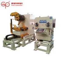Servo Straightener Decoiler Steel Coil Handling Equipment For Metal Sheet Manufactures