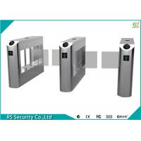 High Security Flexible Smart Supermarket Swing Barrier Gate School IR Sensor Turnstile