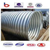 Corrugated Steel Pipe can bear a certain amount of strength and seismic capacity Manufactures
