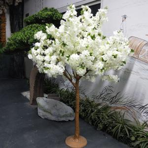 China Handmade 5ft Fake Cherry Blossom Tree Centerpiece / Artificial Wedding Tree on sale