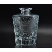 150 ml Reed diffuser glass aroma bottle with emboss pattern for air freshener Manufactures