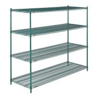 4 Tier Shelf Storage Rack Organizer Steel Wire Shelving For Mushrooms Growth Manufactures