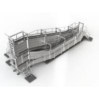 Standard Outdoor Livestock Loading Ramp , 4.7m Deluxe Portable Sheep Ramp Manufactures