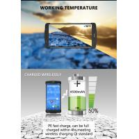 NFC Portable RFID Scanner , Mobile Laser Rugged Barcode Scanner Android PDA Machines Manufactures