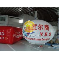 Quality Custom Large Durable Oval Balloon with UV protected printing for Entertainment events for sale