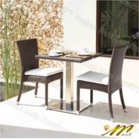 All Weather Wicker Furniture, Rattan Bistro Set (2 Chairs and 1 Table) Manufactures