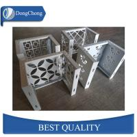 Laser Cut Custom Aluminum Panels For Fence Decoration Perforated Alloy Wall Panel Manufactures