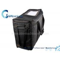 China Automated Teller Machine Components Black Cassette Bag With Four Cassette on sale