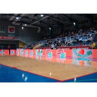 Sports Stadium Perimeter Led Display Waterproof Steel Cabinet 6500 Nits P10 SMD Manufactures