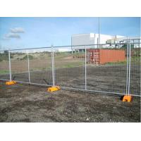 Hot Dipped Galvanized Temporary Chain Link Fence Panels Low Carbon Steel Manufactures
