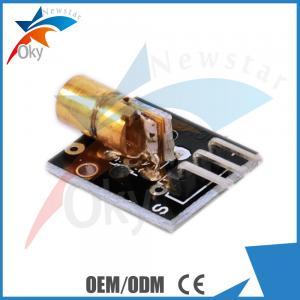 China 650nm Arduino Sensors Kit , Demo Code Arduino Laser Module on sale