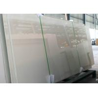 Luxury Glossy Nano Glass Tile Pure White Color 12-18mm Thickness Manufactures