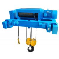 Double Girder Electric Wrie Rope Hoist , 16 Ton 30m Height Manufactures