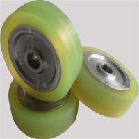 Customized Metal Core Polyurethane Wheels , Pu Roller High Tensile Strength Manufactures