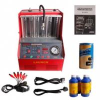 Quality LAUNCH CNC-602A Fuel Injector Cleaner Machine & Tester 220V - Ultrasonic Cleaning for sale