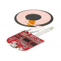 Type C Qi Standard Wireless Charging Transmitter Module For IPhone / Samsung Manufactures