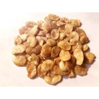 Fried Blanched Fava Bean Snack Salted Health Food Hard Texture COA Certificate Manufactures