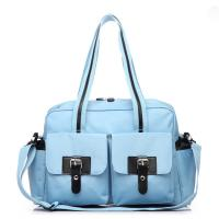 Wholesale Non-toxic Microfiber Baby Diaper Bag Mummy Bags for Women Manufactures