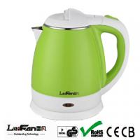 China Double Walls Cordless Electric Kettle 1.5L on sale