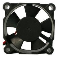 Black Small Brushless 12 Volt Dc Fan For Computer , Ultra Silence