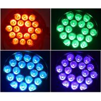 Full-color Outdoor Led Par Stage Lights With DMX512 Voice Control / Self-Propelled