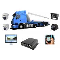 Buy cheap 3G WIFI HDD Mobile DVR 1080P , Car DVR With GPS Tracking For Truck from wholesalers