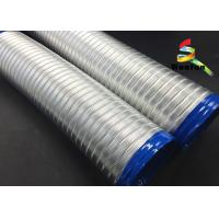 Semi Rigid Flexible Aluminum Ducting Flexible Duct Pipe For House Ventilation Manufactures
