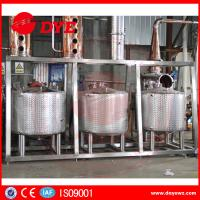 Stainless Steel Home Distillery Equipment With Copper Distilling Colums Manufactures