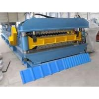 High precision Colored Glaze metal building roofing panel roll forming machine Manufactures