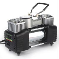 Quality Double Cylinder Metal Air Compressor 180w 150PSI Pump with Watch for sale