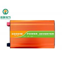 Intelligent High Frequency Pure Sine Wave Inverter 3000W With Overload Protection Manufactures