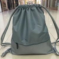 Polyester Digital Printing Waterproof String Backpack With Pocket Outside Manufactures